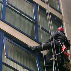 Window cleaning ropes